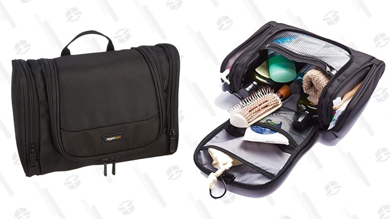 Upgrade Your Toiletry Kit To This  12 AmazonBasics Hanging Bag 8637043a2f9cc
