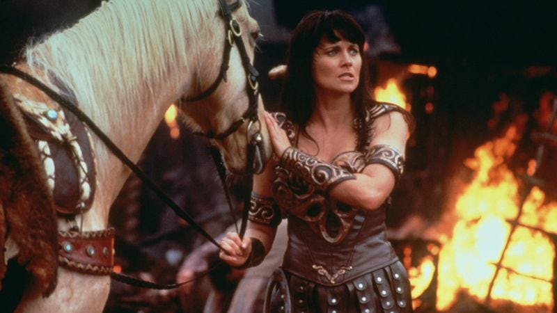 Illustration for article titled Bob Greenblatt says NBC is looking for a Xena reboot writer