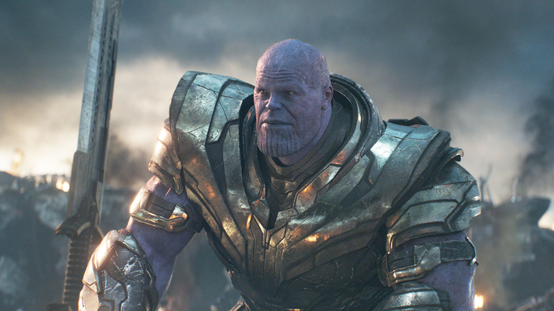Thanos, the Mad Titan.