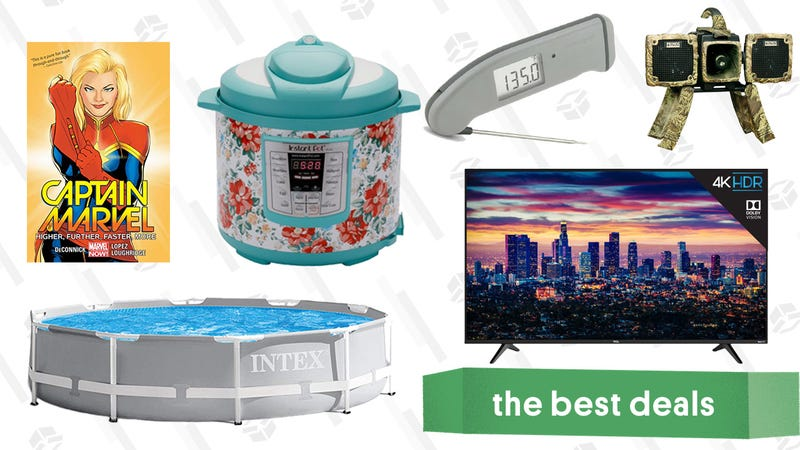 Illustration for article titled Sunday's Best Deals: Marvel Comics, Thermapen Mk4, TCL TV, and More