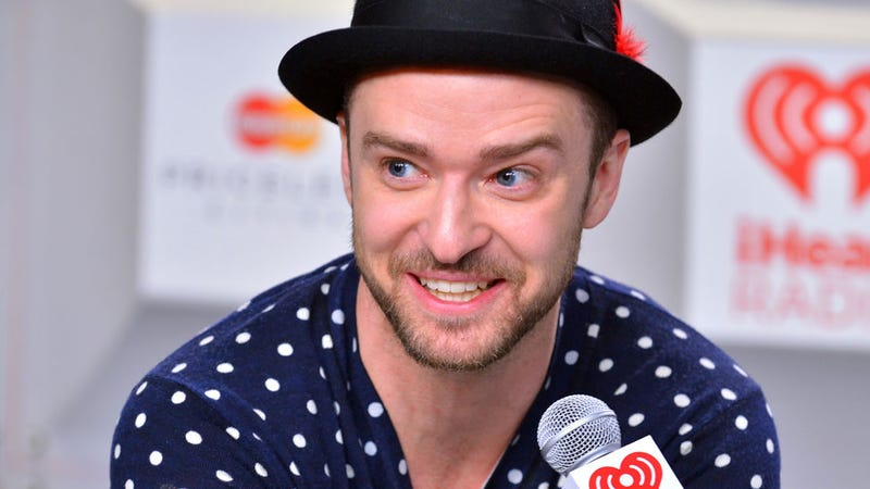 Illustration for article titled Justin Timberlake Sometimes Wants To Spit His Food at Fans