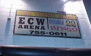 Illustration for article titled The ECW Arena Is Dead. Long Live The ECW Arena.