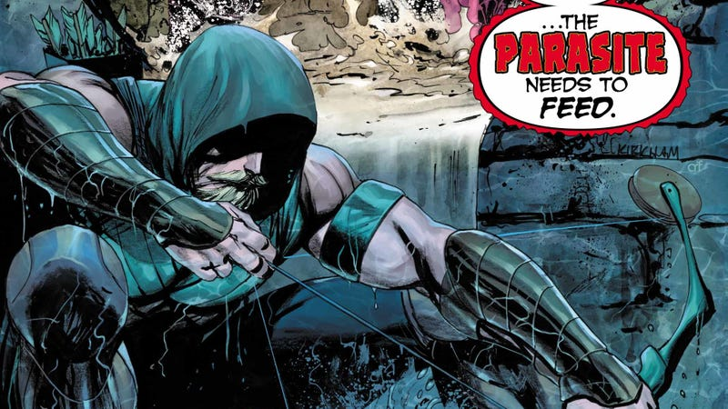 Illustration for article titled A babysitting mission goes horribly wrong in this Green Arrow exclusive