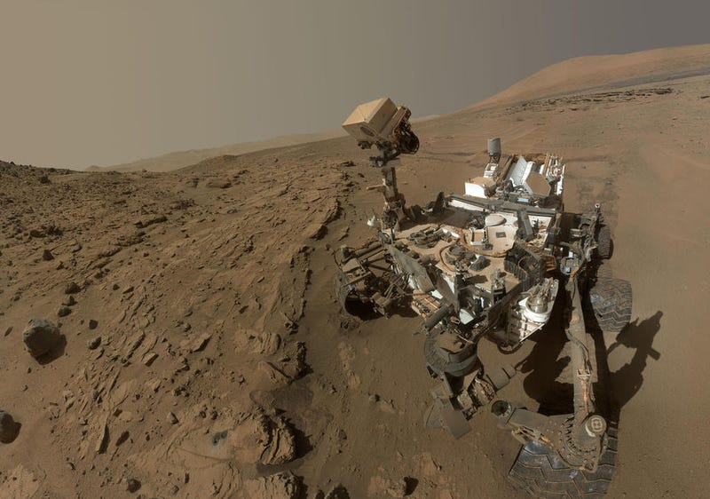 The Curiosity Rover's Drill Has Been Out of Action for Weeks