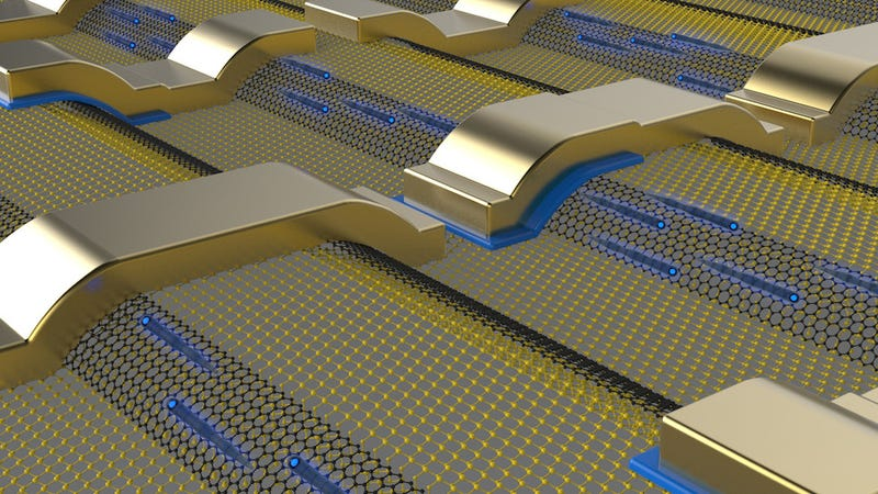 Illustration for article titled New Form of Graphene Should Finally Make Graphene Electronics Possible
