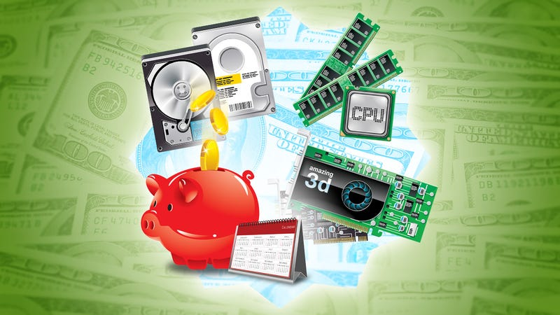 Illustration for article titled How to Save Money When You Build Your Own PC