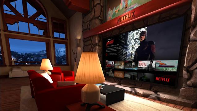 Virtual Reality Living Room Ad