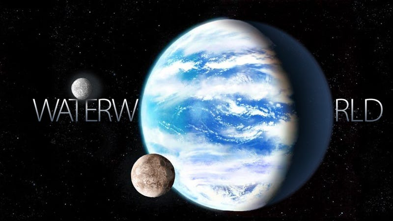 Planet With Water 110
