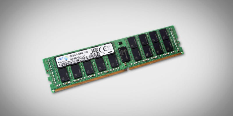 Illustration for article titled Memoria RAM para exportar: Samsung lanza un chip DDDR4 con 128GB