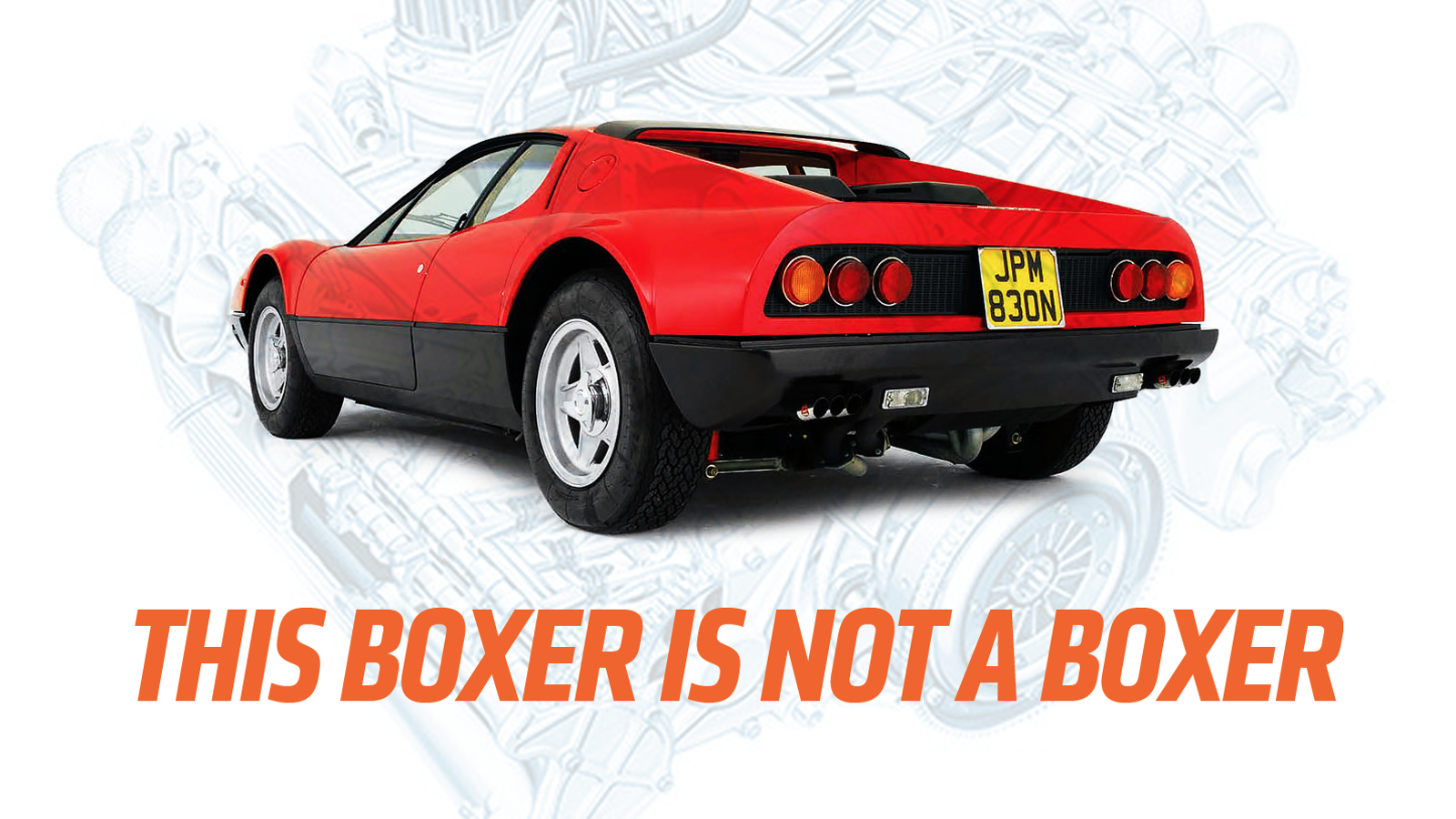 It's Time You Knew The Difference Between Boxer Engines And