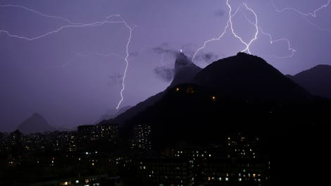 All Olympic Medal Events Ranked - A lightning storm synchronised with dramatic music
