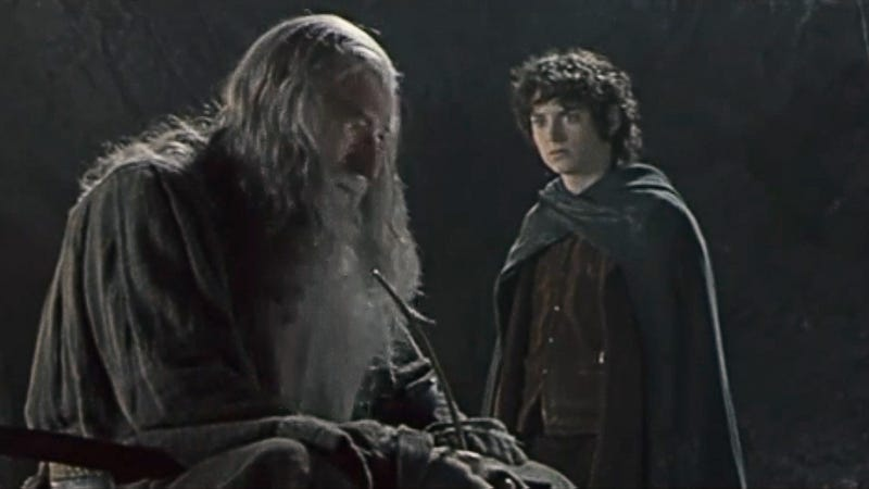 5 times gandalf tried to cheer up a despondent frodo baggins with