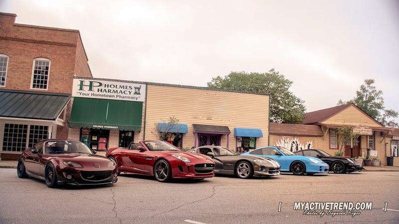 Saturday Drive Columbus GA Sports Car Group