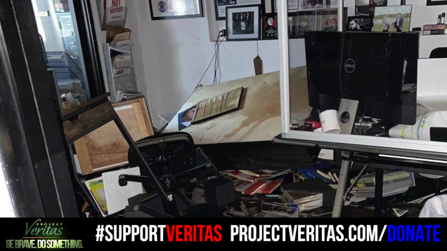Ida Leaves Project Veritas s New York Office in Shambles