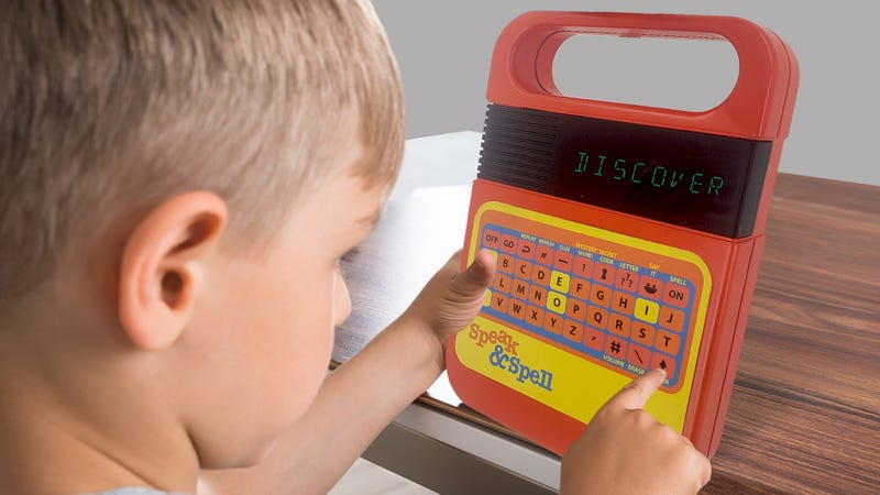 Illustration for article titled My Favorite Childhood Gadget of the '80s, the Speak & Spell, Is Back