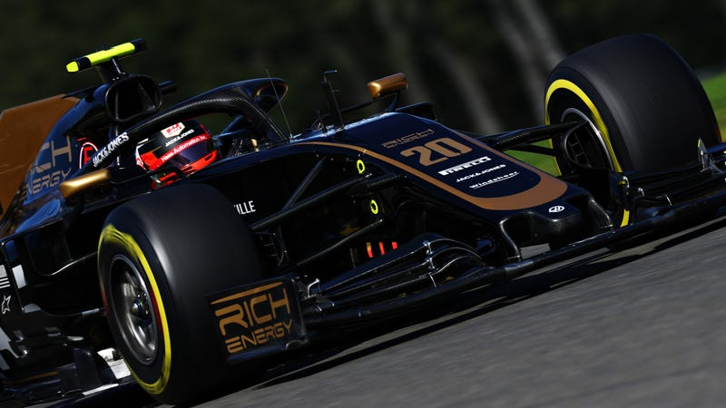 Kevin Magnussen at Spa-Francorchamps, before the Haas F1-Rich Energy split.