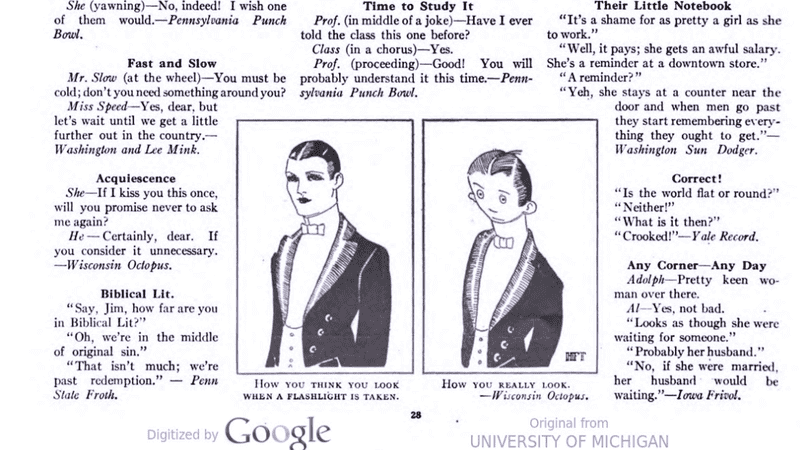 Illustration for article titled Turns Out They Invented That 'How You Think You Look Vs. How You Really Look' Meme Back in 1921