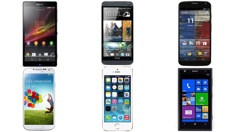Illustration for article titled How the iPhone 5S Stacks Up Against Its Biggest Competitors