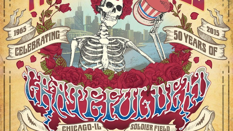 Illustration for article titled Grateful Dead to release insane 73-hour-long boxed set