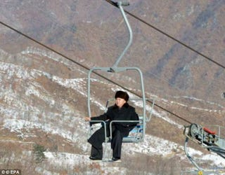 Illustration for article titled Powder Of The People: North Korea Goes Skiing