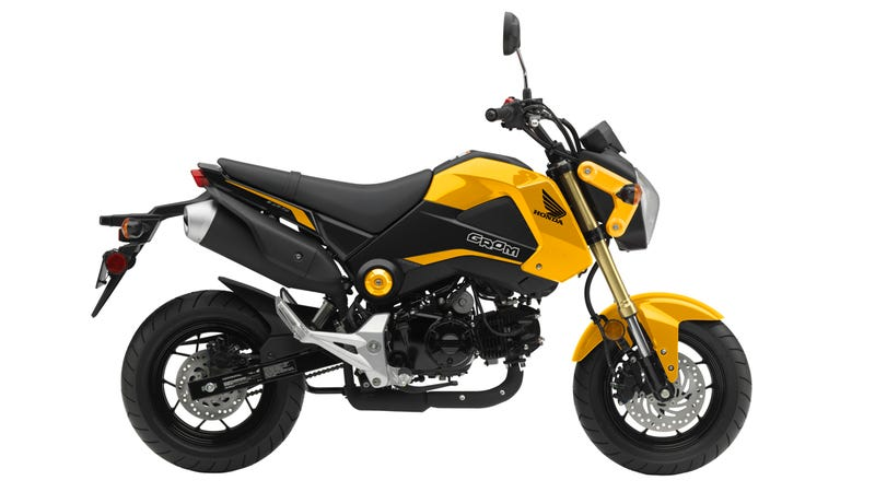 Illustration for article titled This Is Your Very Important Honda Grom Announcement Of The Day