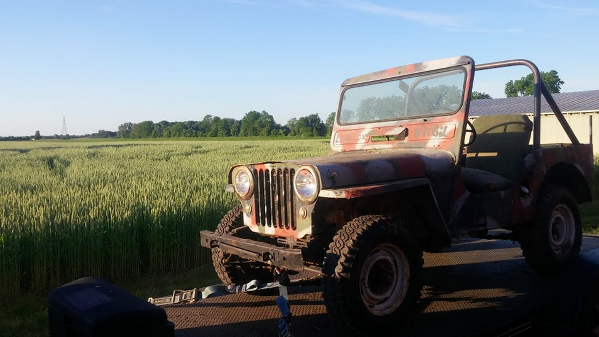 My New Off Road Project Is This Rust Tacular 1948 Jeep Pray For Me Willys Jeeps On Filter Box