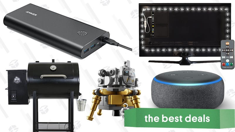 Illustration for article titled Friday's Best Deals: Anker Fast Chargers, Luminoodle Bias Lights, Wood Pellet Smoker, and More