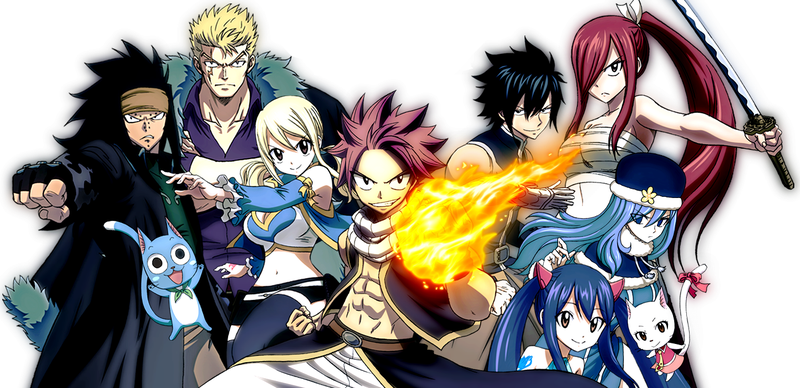 Illustration for article titled The anime of Fairy Tail will come back this Fall