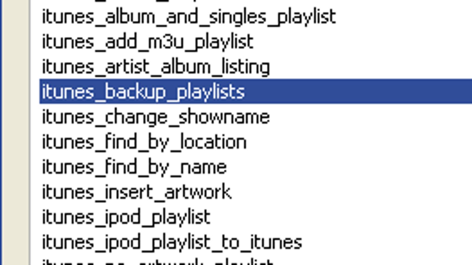 Teridon's iTunes Scripts Lets You Batch Edit Your iTunes