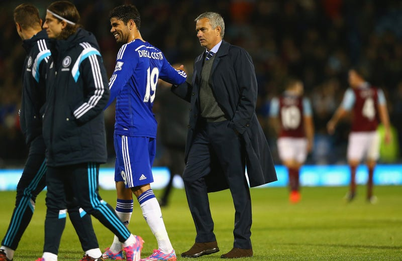 Illustration for article titled Diego Costa And José Mourinho Are The Shitheads We Need