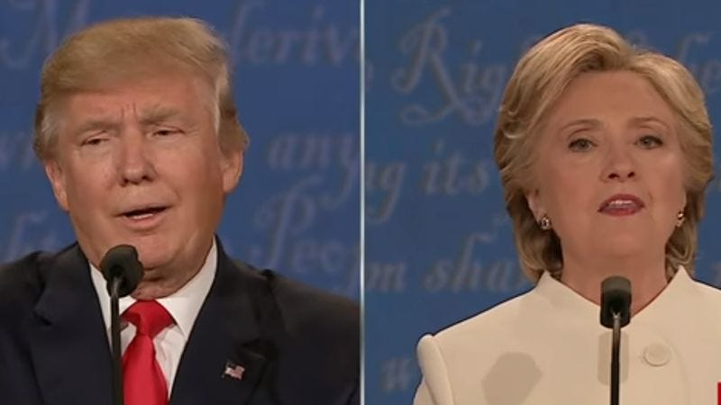 Presidential debate (Screenshot: YouTube)