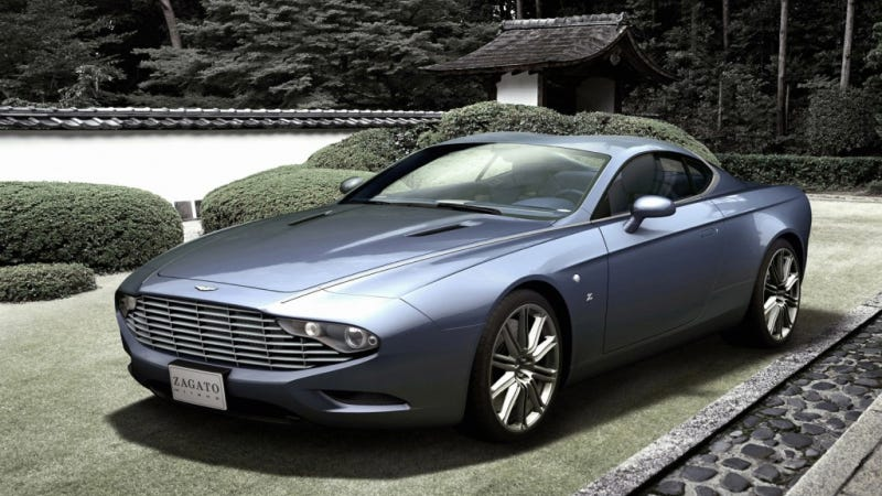 Illustration for article titled Zagato Makes Two Aston Martins Even More Beautiful