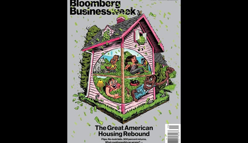 Illustration for article titled Embarrassing Business Week Cover Depicts Greedy Minorities Burning Cash