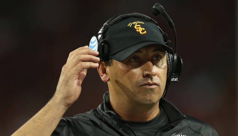 Illustration for article titled Report: Steve Sarkisian Is Looking For An NFL Coaching Job
