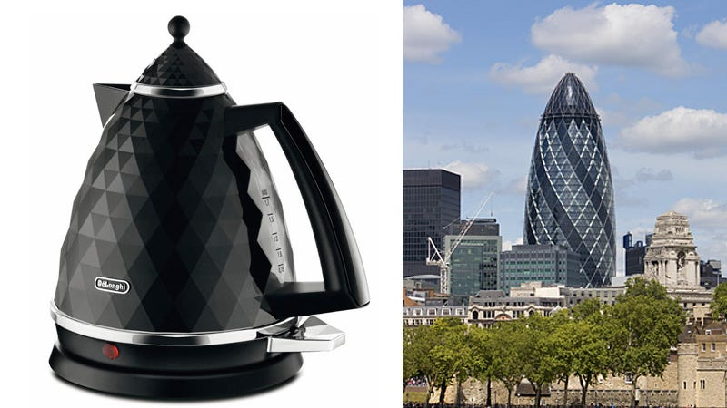 Illustration for article titled Was This Beautiful Kettle Inspired By a London Landmark?