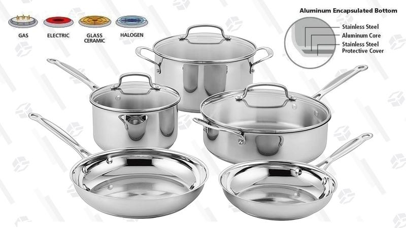 Cuisinart Classic 8-Piece Cookware Set | $64 | Amazon
