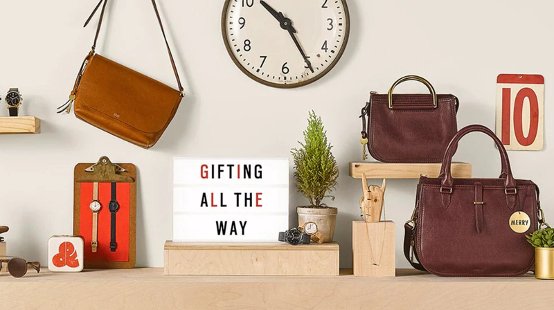 40% Off Gifts, 25% Off Watches and Bags | Fossil