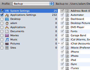 Illustration for article titled iBackup Schedules Advanced OS X Backup