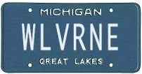 Illustration for article titled Michigan Fan Can't Think Of Any Way To Show His Loyalty Other Than His License Plate
