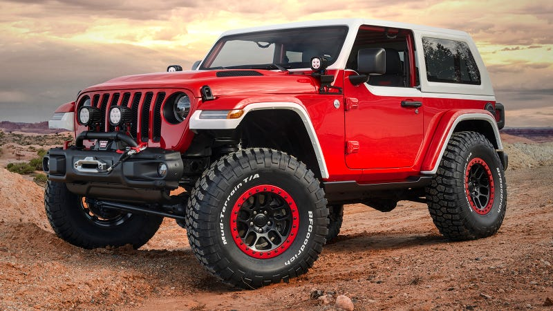The Jeep Jeepster Concept Puts Modern Off-Road Tech Under 1960s Style