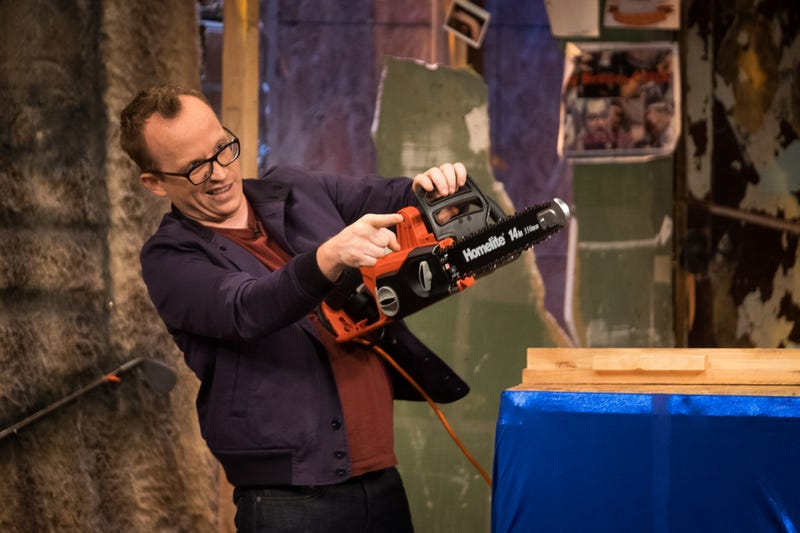 Chris Gethard, in a less cuddly installment of his eponymous show (Photo: A. Bisdale/truTV)
