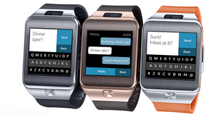 Illustration for article titled Fleksy Messenger Makes Typing on a Smartwatch Slightly Less Impossible