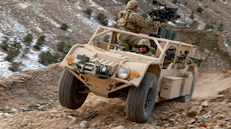 Illustration for article titled The U.S. Special Forces' New Kick Ass Battle Wagon Fits In An Osprey