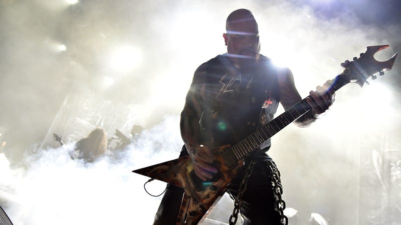 Illustration for article titled NASCAR Cowards Dropped Slayer As A Race Car Sponsor Because Of