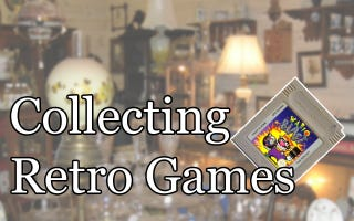 Illustration for article titled Collecting Retro Games: 102 Where and How to Buy Vintage Games