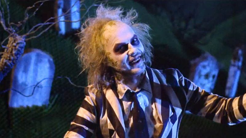 Illustration for article titled UPDATED: A Beetlejuice sequel has not been green-lit
