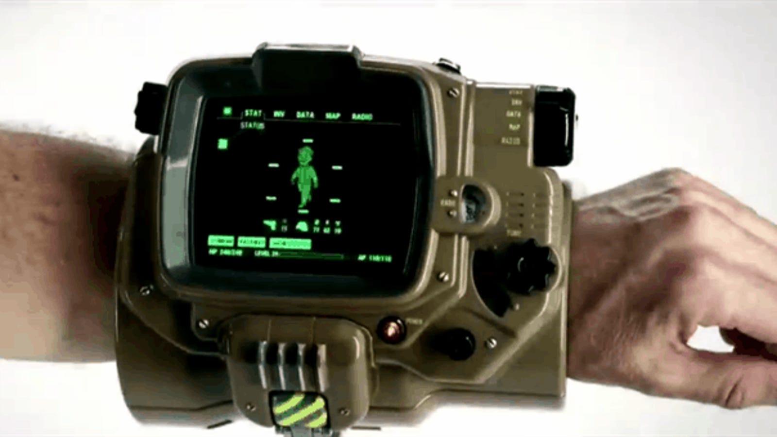 """Fallout 4 Pip-Boy Edition: el """"gadget estúpido"""" que arrasa en Internet"""