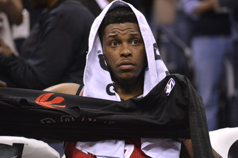 Illustration for article titled Kyle Lowry Is Stuck In Playoff Hell Again