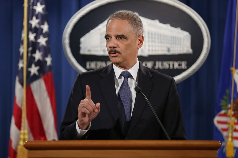Then-U.S. Attorney General Eric Holder in 2015Chip Somodevilla/Getty Images
