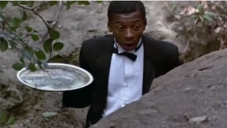 Robert Townsend in a scene from Hollywood ShuffleYoutube screenshot
